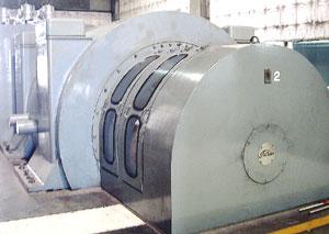 タービン・発電機室